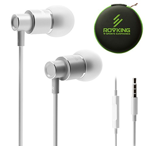 ROVKING Wired Metal In Ear Earbuds