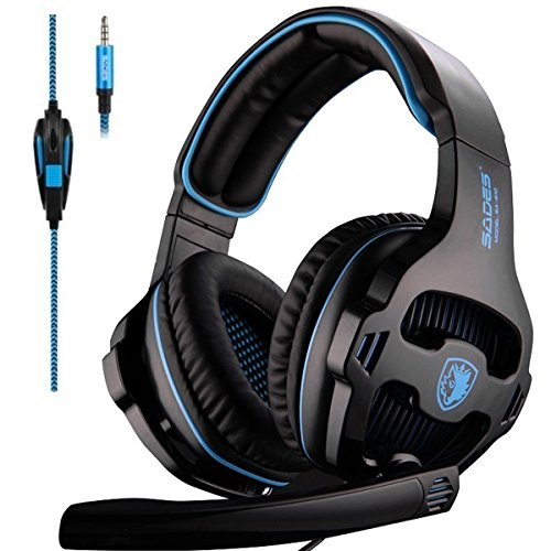 Sades Over-Ear Stereo Bass Gaming Headphones